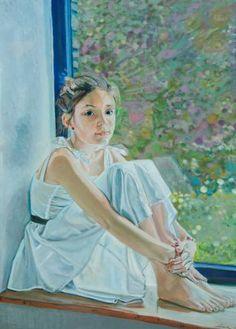 "Saatchi Art Artist David Gericke; Painting, ""Lais´ Window"" #art"
