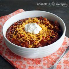 Cold Weather Crock Pot Chili