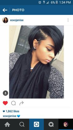 Cute short wigs for black women lace front wigs human hair wigs. Click picture to see Short Black Hairstyles, Short Hair Cuts, Straight Hairstyles, Short African American Hairstyles, Curly Short, Short Hair Styles For Black Women Bobs, Short Styles, Bob Styles, My Hairstyle