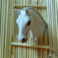 My Schleich horse Kiomy in my selfmade stable