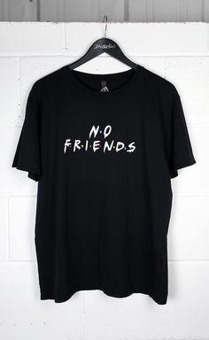 No Friends T-Shirt #disturbiaclothing disturbia metal silver alien goth occult grunge alternative punk