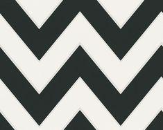 Schwarz- weißer Retrostil by MICHALSKY LIVING, Tapete 939431 #black #and #white #schwarz #weiß #tapete #ascreation #living #interior #michalsky