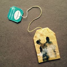363 days of tea. Day 141. #recycled #teabag #art #twinings www.rubysilvious.com