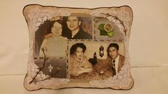 TOTALLY CUSTOM Memory Pillow created as one of a by PillowArtByLee