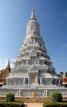 Silver Pagoda, Royal Palace, Phnom Penh, Cambodia.