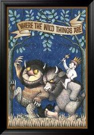 Lounge room art? Where the Wild Things Are Maurice Sendak