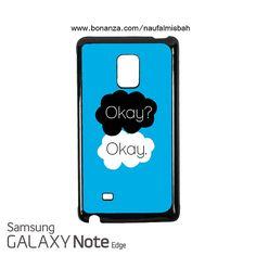 Cute Okay Okay Samsung Galaxy Note EDGE Case Cover