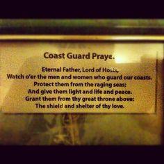 Coast Guard Prayer. Pass it on.