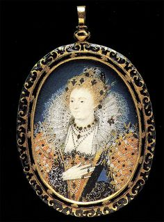 Another minature of Elizabeth I by Nicholas Hilliard