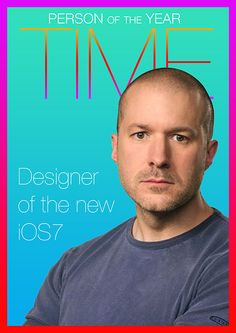 Jony Ive redesigns Time. Credit @Joon Van Thuyne