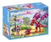 Playmobil Fairies 9134 Drakenhoeder met rode draken -Linkerzijde