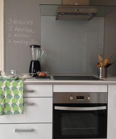 cocina pizarra gris ratn pizarra paredes pintura