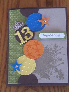 Birthday card boy