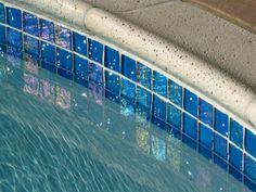pool tile | Lightstreams Glass Waterline Tile | Various Colors