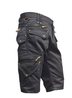 Durable strong material shorts which are perfect for festivals and daily life adventures. In cotton. Trendy Mens Jeans, Stylish Mens Outfits, Cool Outfits, Mens Tactical Pants, Tactical Clothing, Cargo Pants Men, Mens Cargo Shorts, Fashion Pants, Mens Fashion