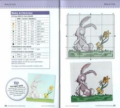 Gallery.ru / Фото #47 - The world of cross stitching 186 + Springtime card cuties - tymannost
