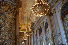 The Salon Dorado (Golden Hall) - Teatro Colón, Buenos Aires