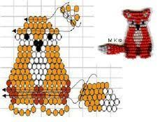 Image result for pony bead patterns gecko free