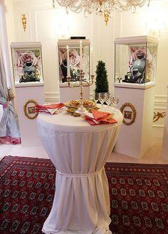 La Maison Graal Joaillier est en beauté pour ses invités, pour une dégustation du vin du Chateau de Tigné de Monsieur Gérard  Depardieu.