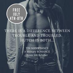 ⚡ Flash #FREE eBook ⚡  Tin Man's Dance by M.K. Schiller  ❤️ July 4-8 ❤️  #ContemporaryRomance