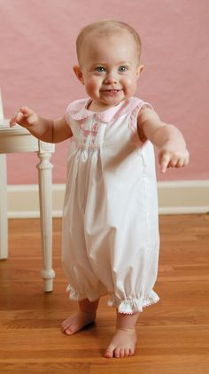 I want to make some of these old-fashioned styles for Lily. Learning to smock? Eek.