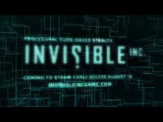 Invisible, Inc. Steam Early-Access Trailer - YouTube
