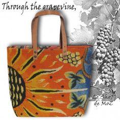 Sun and Vine from french designer, Picart le Doux #picartledoux #lurçat #vintage leshopdemoz.com