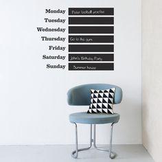 Ferm Living This Week Muursticker | LOODS 5