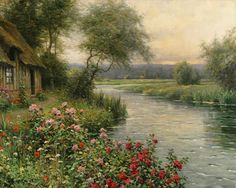 Louis Aston Knight - A River in Normandy