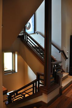 The NW Natural Street of Dreams House #7 that railing though!!