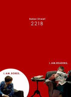 Baker Street - John Watson (Martin Freeman) and Sherlock Holmes (Benedict Cumberbatch) - Sherlock. What to do when bored. Sherlock Holmes Bbc, Sherlock John, Loki, Vatican Cameos, Benedict And Martin, Mrs Hudson, Sherlolly, 221b Baker Street, Arthur Conan Doyle