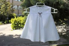 DIY How to dress baby girls (tutorial with pattern included)