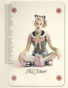 Paolo Roversi - The Joker's Wild (British Vogue)