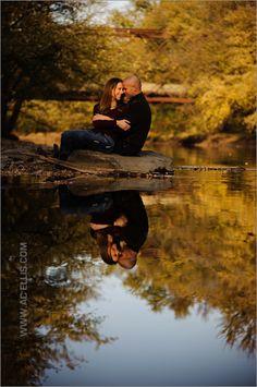 Fall Engagement Photo - South Dakota