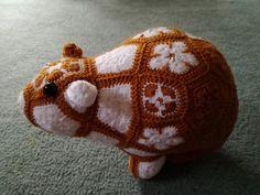 Ravelry: Gerty African Flower Guineapig pattern by Nikki Cr0chet