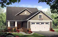 Bungalow   Craftsman   House Plan 59168