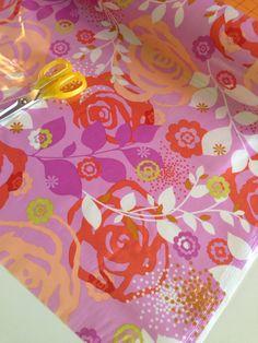 SALE SLICKER LAMINATED Fabric by Erin McMorris  by fabricshoppe, $12.00