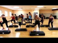 Step Cardio Routine- By Liana Santarossa DEC 2013 - YouTube