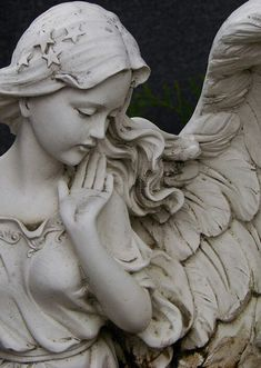 Angel...such delicate beauty, to be made of stone