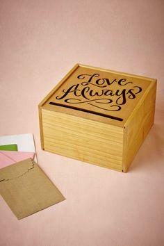 Love Always Card Box for Weddings