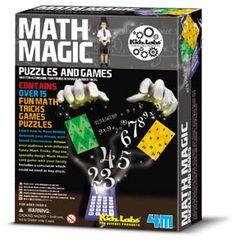 4M Math Magic: 15 Tricks, Games & Puzzles