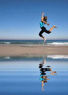 Entre dos aguas... Aguas quietas , y en movimiento,absorbiendo la pureza.