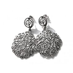 AryA Italian Jewels - Women Burnished Earrings - Orecchini Donna Bruniti