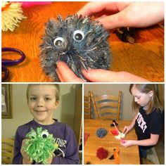 Yarn Creatures for Kids
