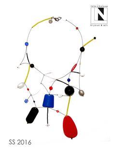 #loranikolova #bijoux&art #necklace #colors #art #madeinitaly Jewelry Art, Beaded Jewelry, Jewelry Necklaces, Jewelry Design, Fashion Jewelry, Beading Tutorials, Diy Necklace, Wire Work, Pattern Fashion