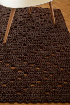 The rug on the photo is approximately 32x56 inches (81x142 cm) in size, 0,6''/1,5 cm thick and weights about 2,2 kg. This soft chocolate brown rug is a perfect addition to your living room, bedroom, bathroom, nursery. The rug will be shipped within 3 business days after receiving
