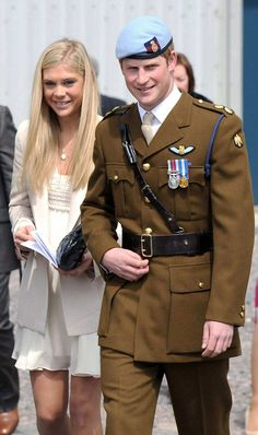 Le Prince Harry n'a d'yeux que pour Chelsy Davy !