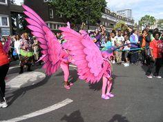 Pink Hummingbirds - Carnival Costumes