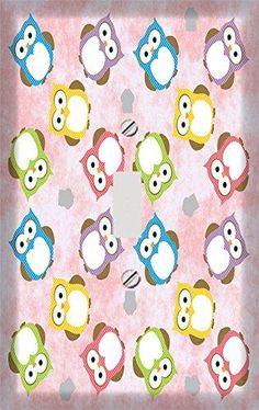 Retro Owl Potpourri Switch Plate Cover