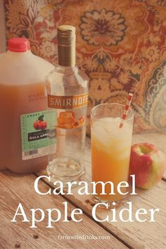 Caramel Vodka Apple Cider Cocktail Apple Cider needs an adult drink version of it's fine self besides hard ciders during the fall season. Caramel vodka plus apple cider brings you the best caramel apple cider cocktail money can buy. Apple Cider Drink, Apple Cider Cocktail, Hard Apple Cider, Cider Cocktails, Alcoholic Apple Cider Recipe, Apple Cider With Alcohol, Fall Cocktails, Best Apple Cider, Spiked Apple Cider